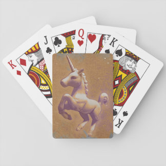 Unicorn Playing Cards Standard (Metal Lavender)
