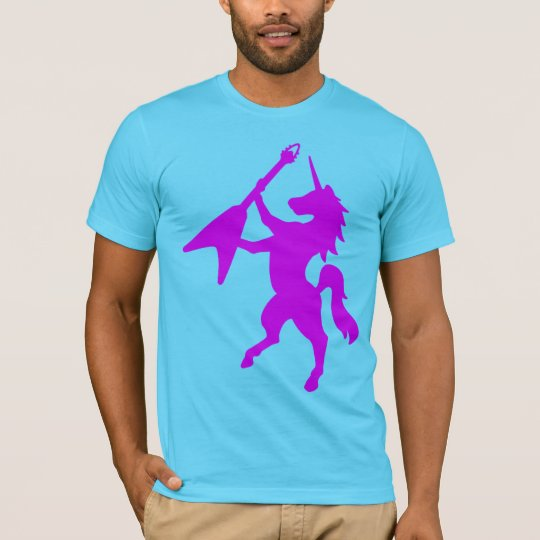 Unicorn Playing Guitar T-Shirt