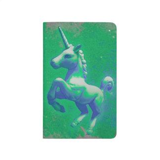 Unicorn Pocket Journal (Glowing Emerald)