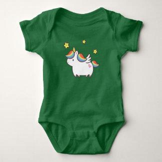 Unicorn Pony Baby Bodysuit