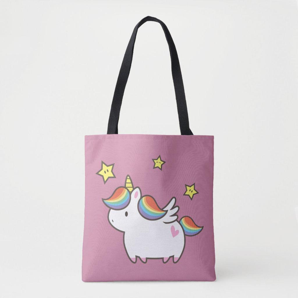 Unicorn Pony Tote Bag