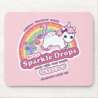Unicorn Poop Candy Mouse Mat