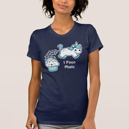 Unicorn Pooping on Cupcake T-Shirt