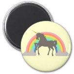 Unicorn Power 6 Cm Round Magnet