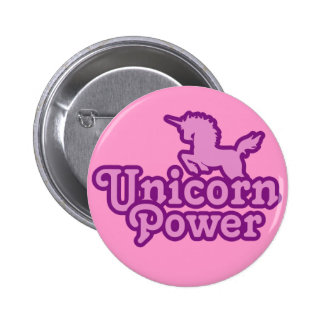Unicorn Power! Fun Novelty Buttons