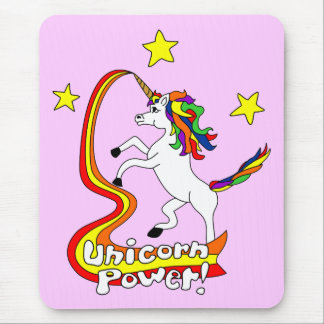 Unicorn Power! Mouse Mat
