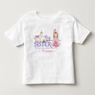 Unicorn Princess Big Sister T-shirts