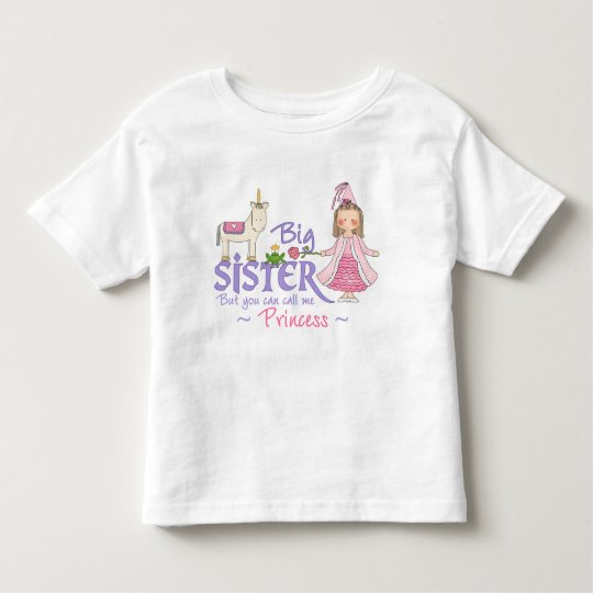 Unicorn Princess Big Sister T-shirts