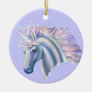 Unicorn Princess Christmas Ornament