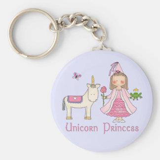 Unicorn Princess Key Ring