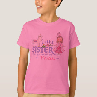 Unicorn Princess Little Sister T-shirts