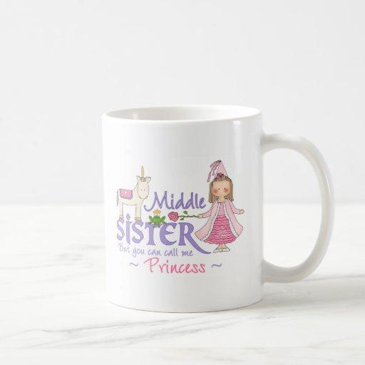Unicorn Princess Middle Sister Coffee Mug