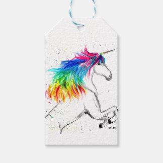 Unicorn print Unicorn design rainbow Gift Tags