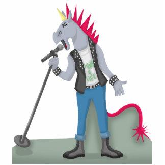 Unicorn Punk Cutout Sculpture Cut Outs