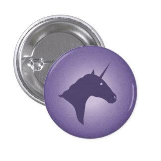 Unicorn purple Button