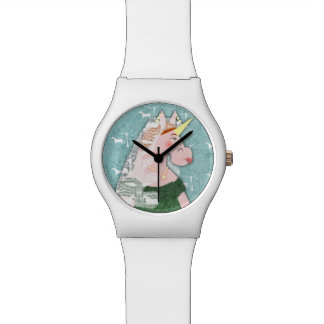 Unicorn Queen Victoria Watch