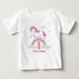 Unicorn 1st Birthday T-Shirt