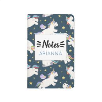 Unicorn Rainbow Dream Big Note Journal