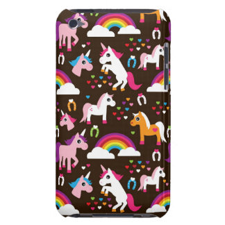 unicorn rainbow kids background horse Case-Mate iPod touch case