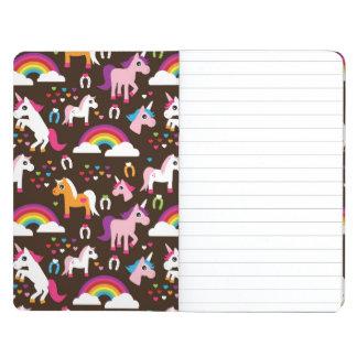 unicorn rainbow kids background horse journal