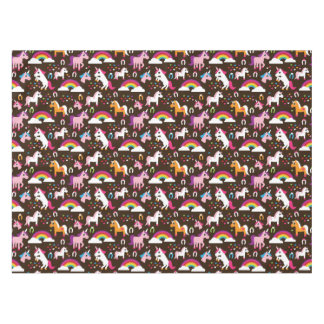 unicorn rainbow kids background horse tablecloth