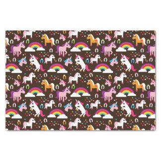 unicorn rainbow kids background horse tissue paper