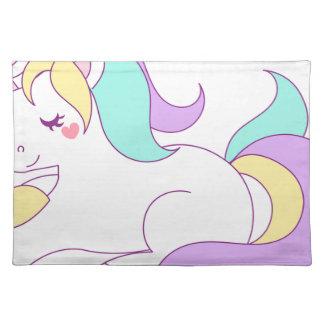 Unicorn Rainbow Magical Magic Fantasy Design Placemat