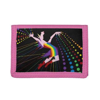 Unicorn Rainbow Maker Tri-fold Wallets