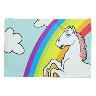 Unicorn Rainbow Pillowcase