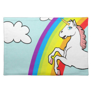 Unicorn Rainbow Placemat