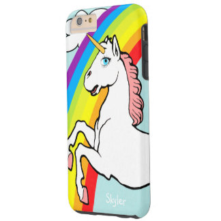 Unicorn Rainbow Tough iPhone 6 Plus Case