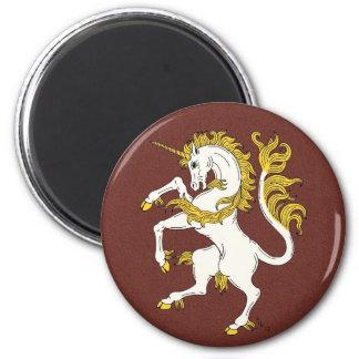 Unicorn Rampant Magnet