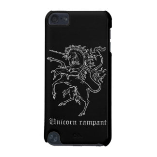 Unicorn rampant medieval heraldry iPod touch (5th generation) case