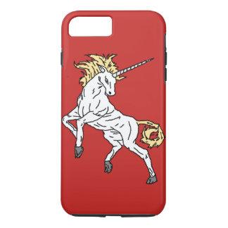 Unicorn (Red) iPhone 8 Plus/7 Plus Case