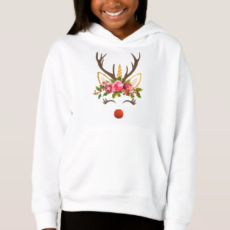 Unicorn Reindeer Antler / Christmas Flowers