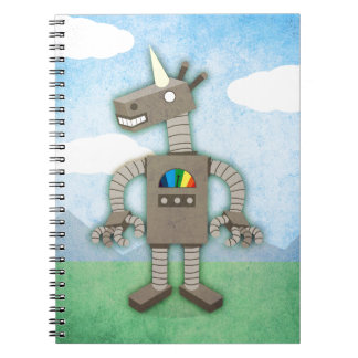 Unicorn Robot Notebooks