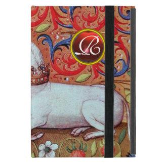 UNICORN RUBY MONOGRAM COVERS FOR iPad MINI