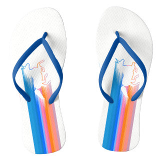 Unicorn Run Flip Flops