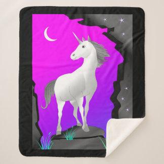 Unicorn Sherpa Blanket