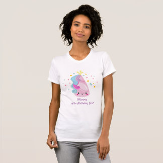 Unicorn shirt - mommy of the birthday girl