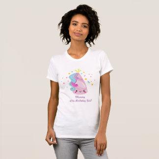Unicorn shirt - mummy of the birthday girl