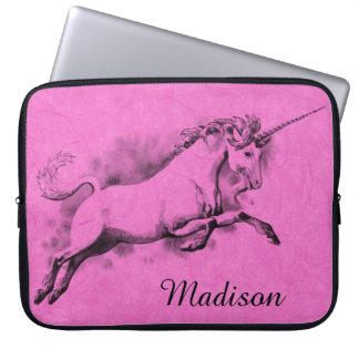 unicorn sketch fantasy art story trendy fashion computer sleeves