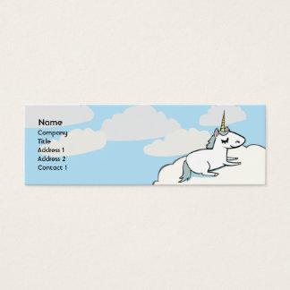 Unicorn - Skinny Mini Business Card