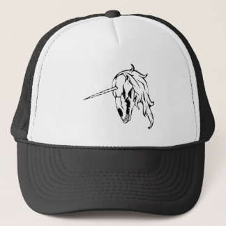 Unicorn Skull Trucker Hat