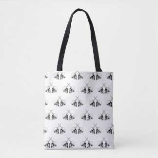 Unicorn Skulls Twins_2 Tote Bag
