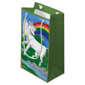 unicorn small gift bag
