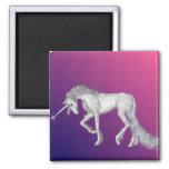 Unicorn Sparkles Square Magnet