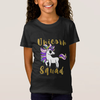 Unicorn Squad, Colorful Pony T-Shirt