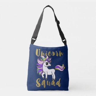 Unicorn Squad, white kawaii Pony Crossbody Bag