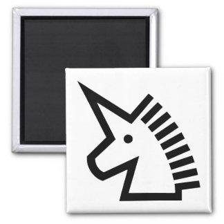Unicorn Square Magnet